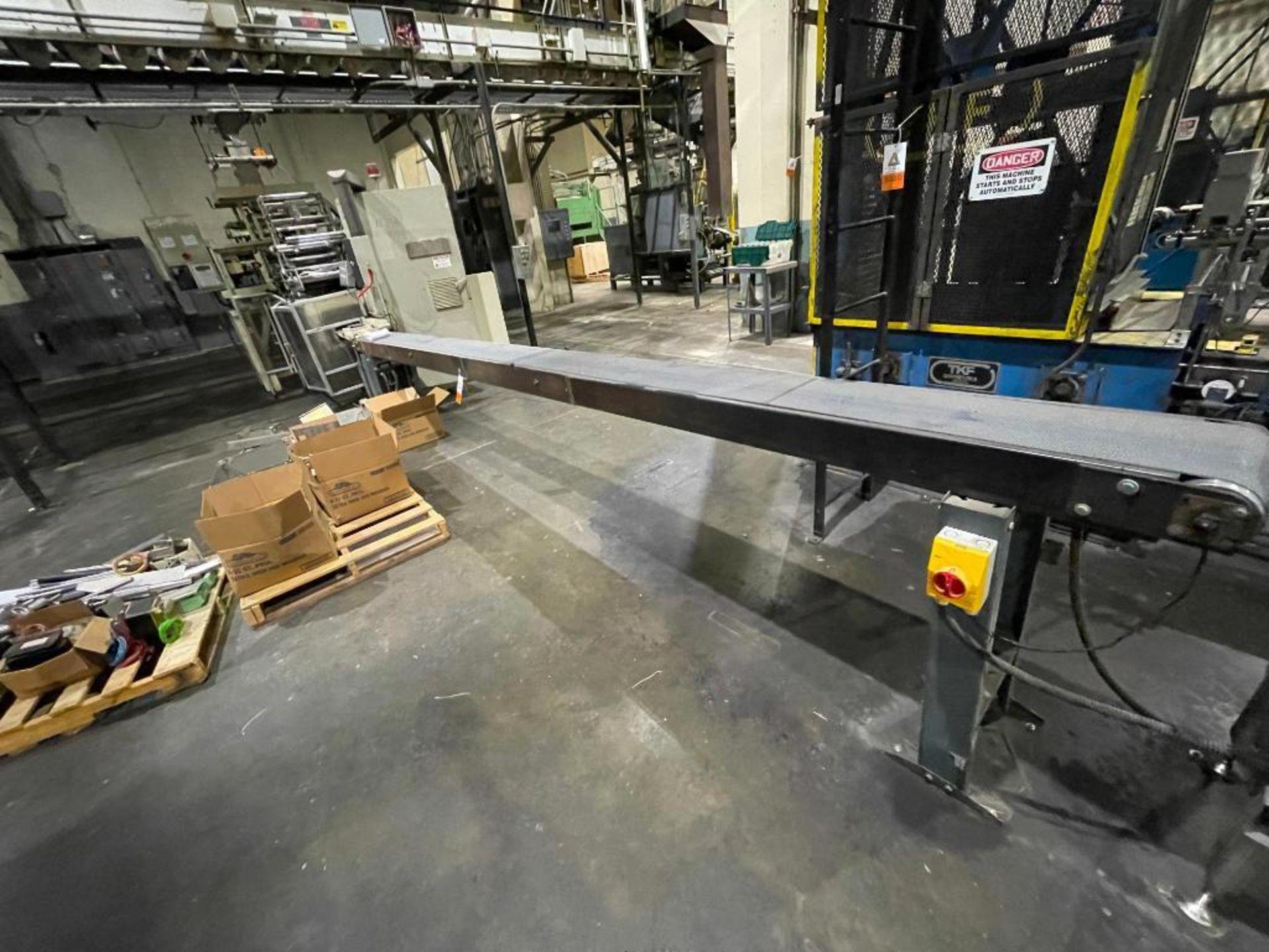 rubber belt conveyor - Image 3 of 7