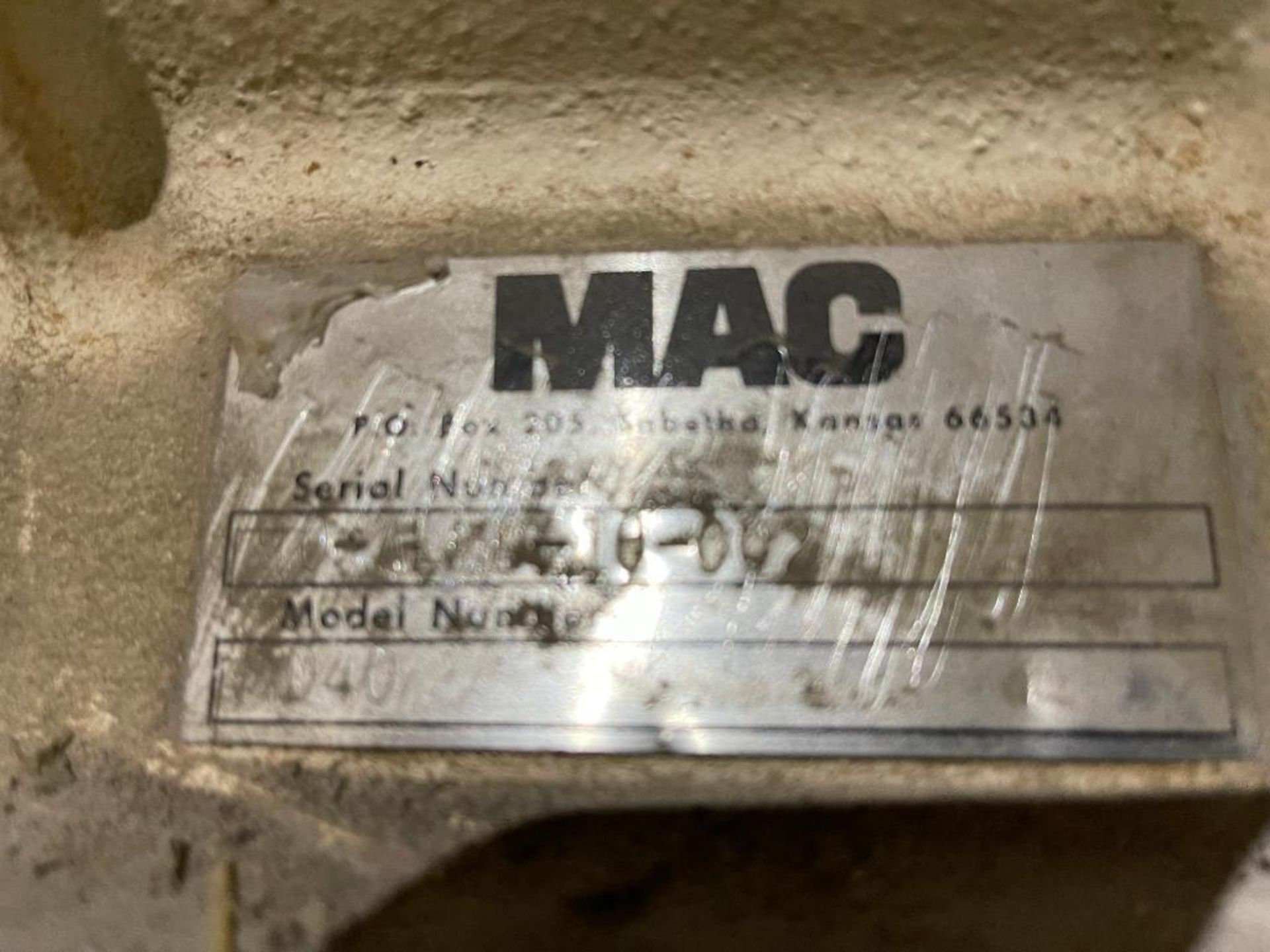 MAC mild steel cyclone - Image 5 of 11