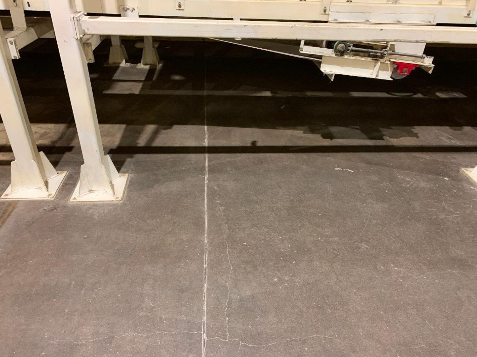 Aseeco mild steel cone bottom bulk storage bin - Image 3 of 22