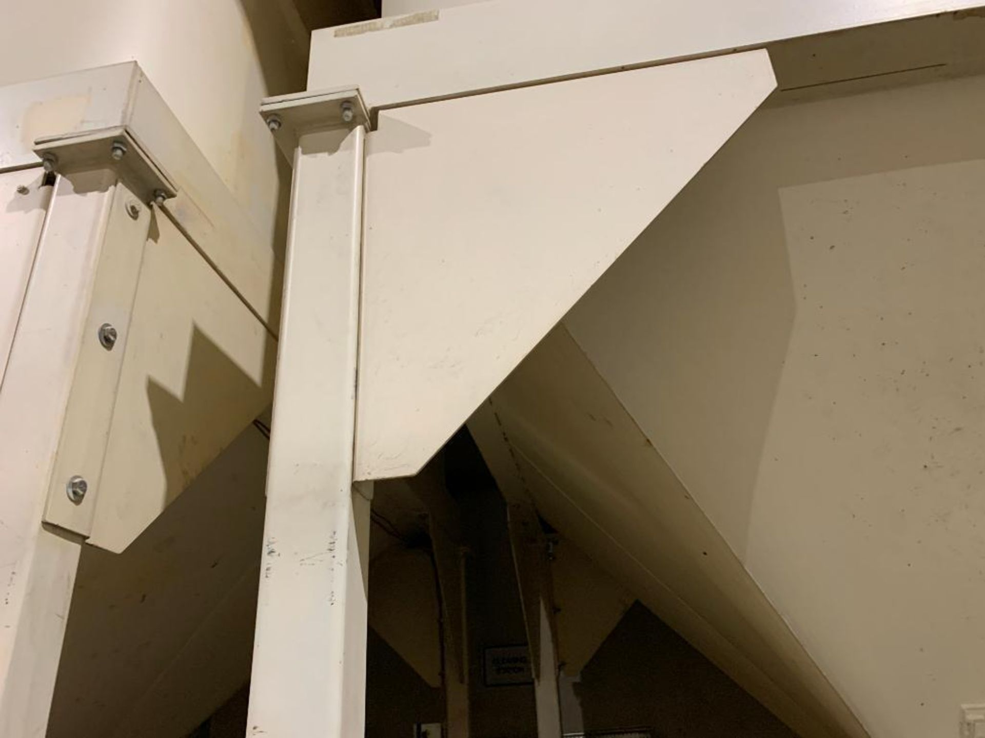 Aseeco mild steel cone bottom bulk storage bin - Image 8 of 25