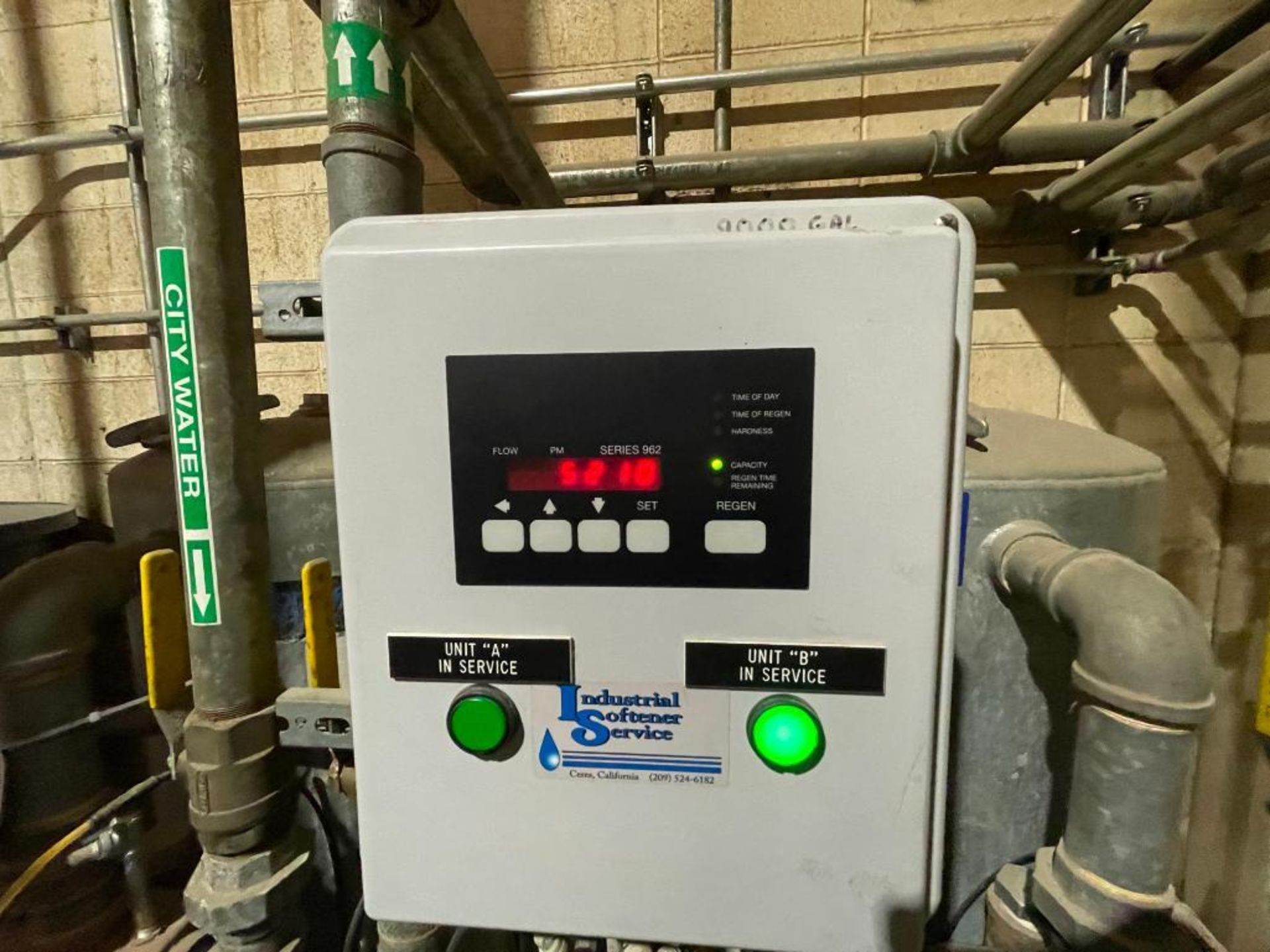 3-tank industrial water softener - Image 9 of 11