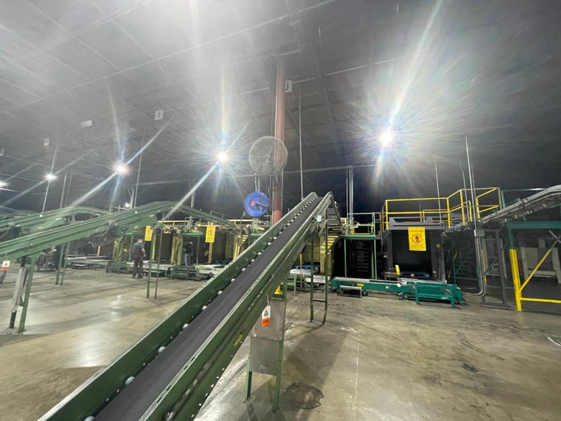 Buschman mild steel incline conveyor - Image 15 of 15