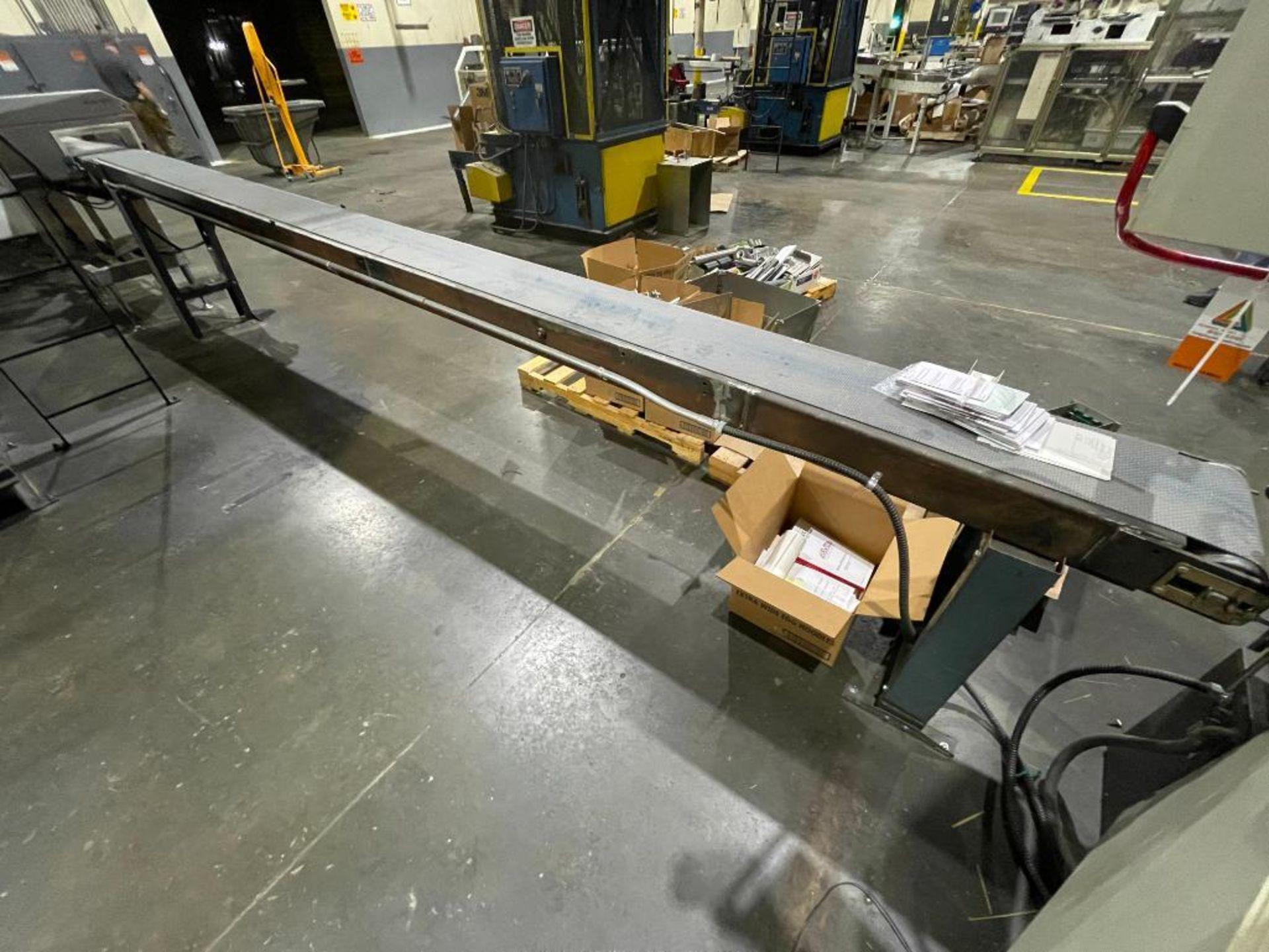 rubber belt conveyor - Image 2 of 7