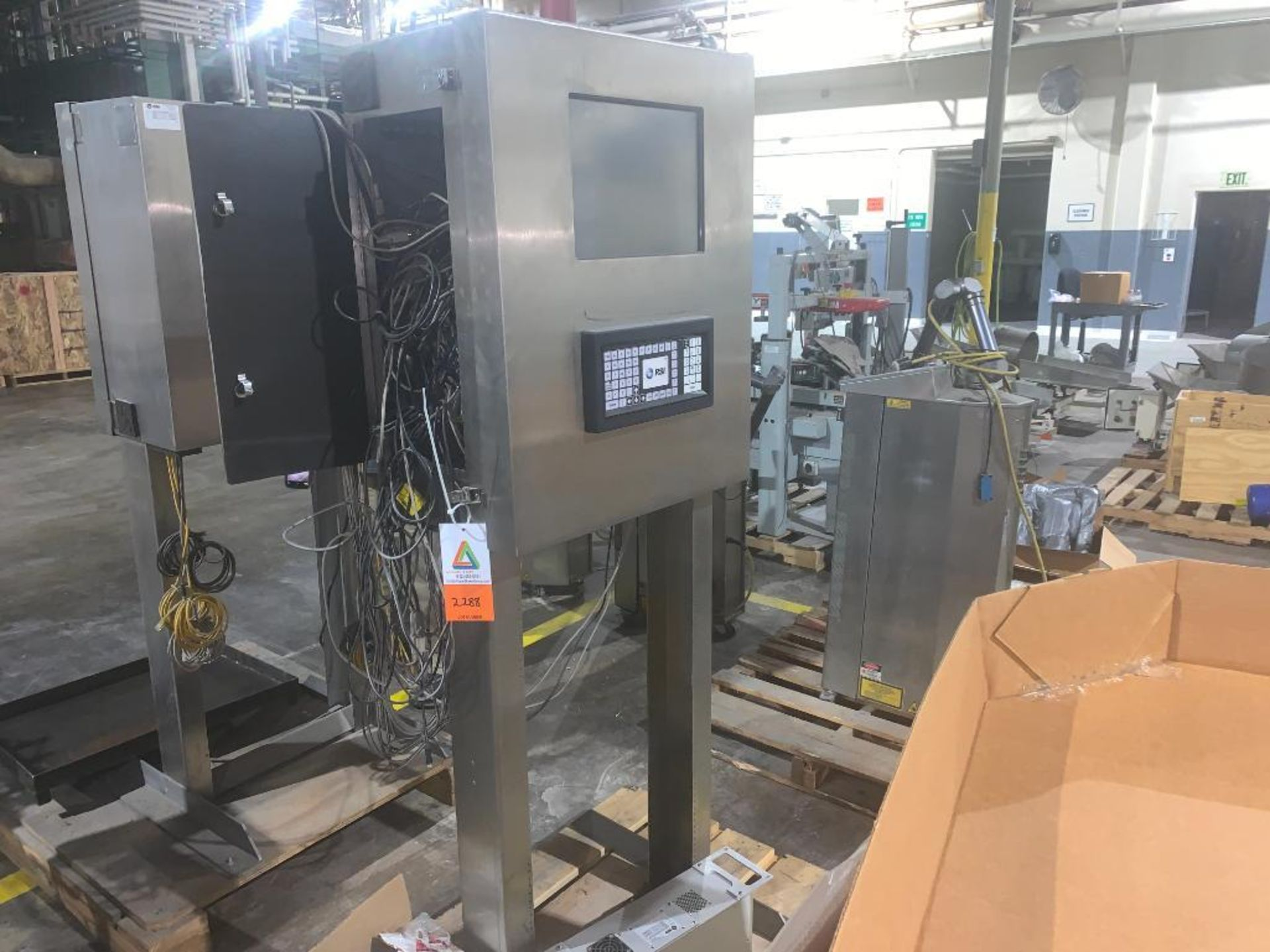 stainless steel pedestal control panel