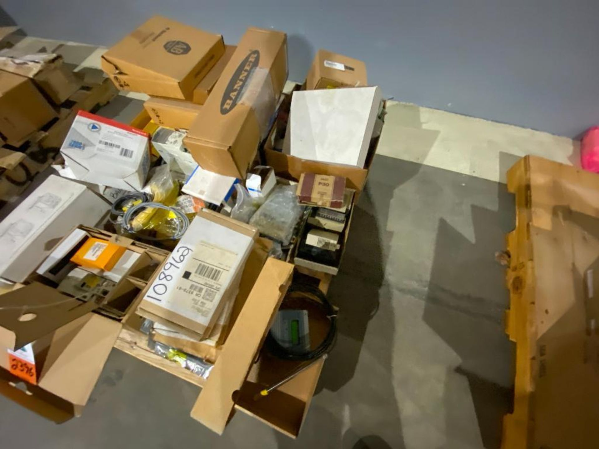 pallet of ABB parts, controllers, cabinets, and control boards - Image 2 of 8