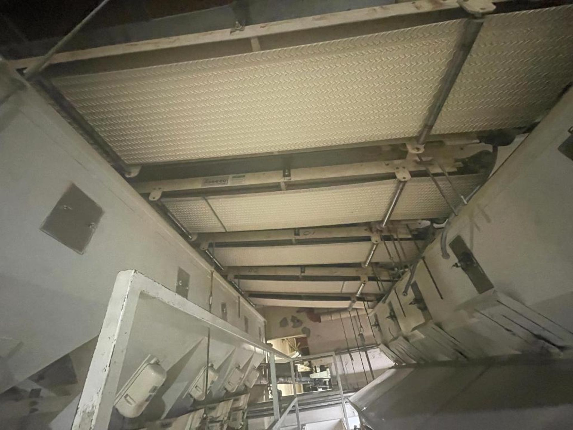 5 overhead conveyors, white rubber belt - Image 9 of 9