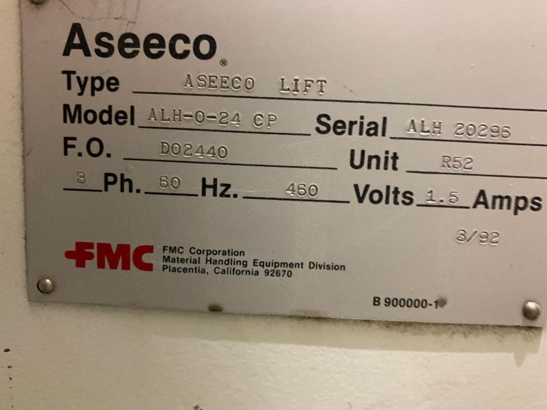 1990 Aseeco horizontal bucket elevator, model ALH-0-24 - Image 14 of 16