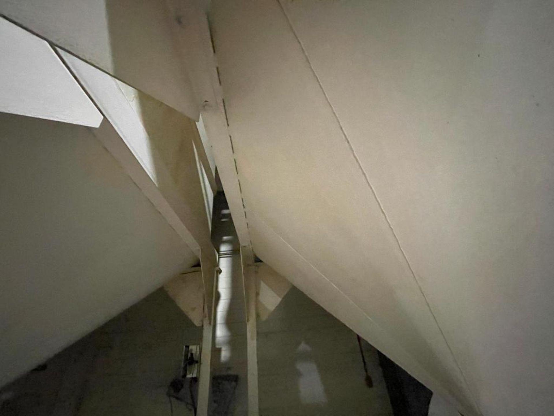 Aseeco mild steel cone bottom bulk storage bin - Image 14 of 28