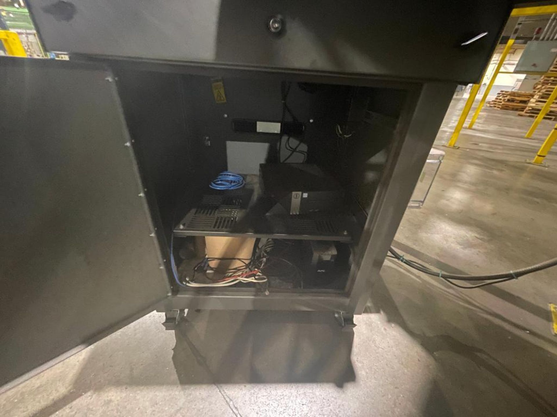 portable enclosed air conditioned computer cabinet - Image 11 of 16