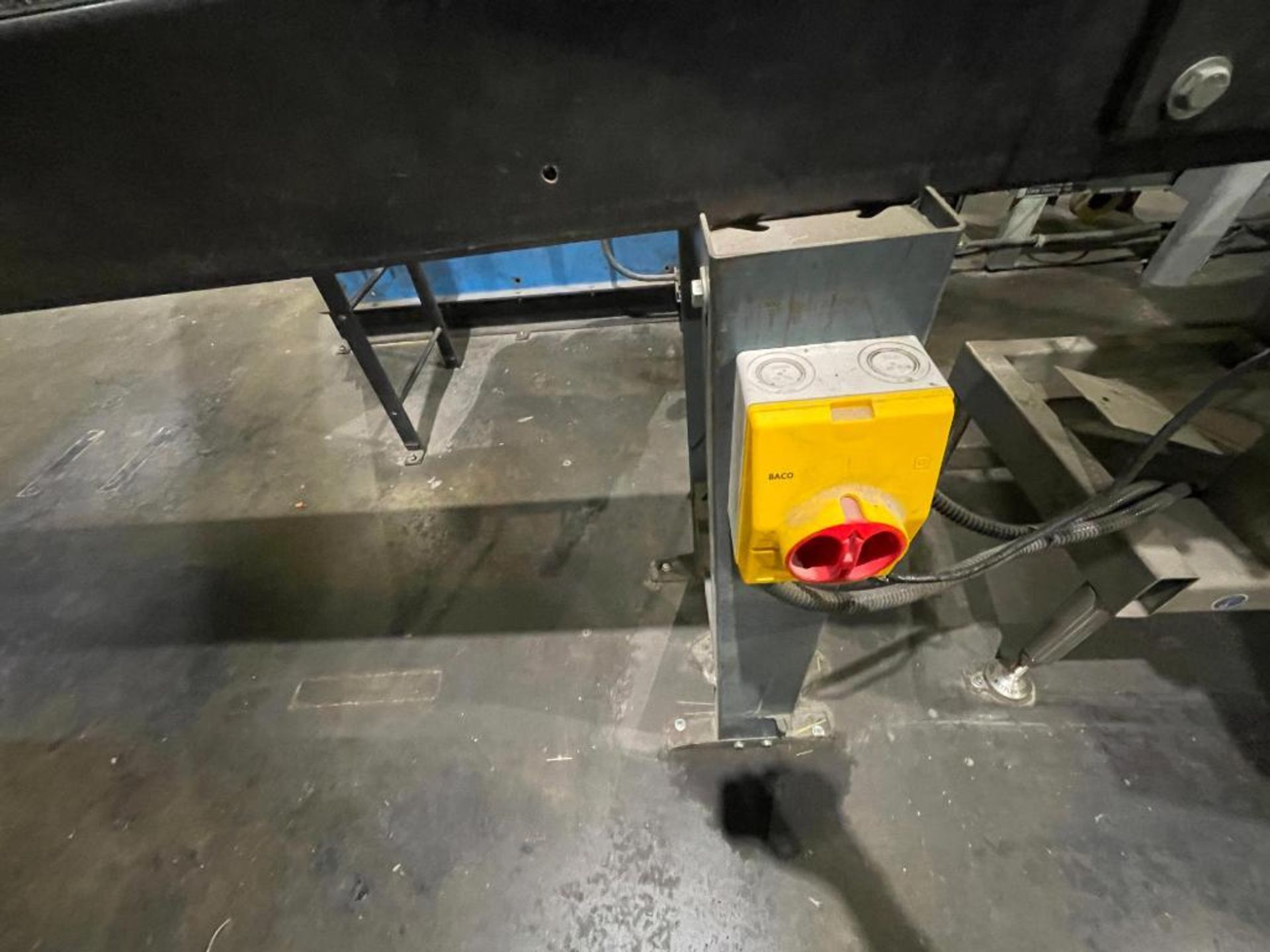 rubber belt conveyor - Image 4 of 7