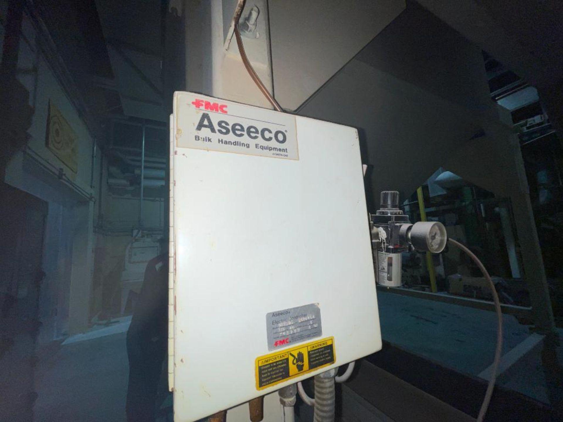 Aseeco mild steel cone bottom bulk storage bin - Image 23 of 31