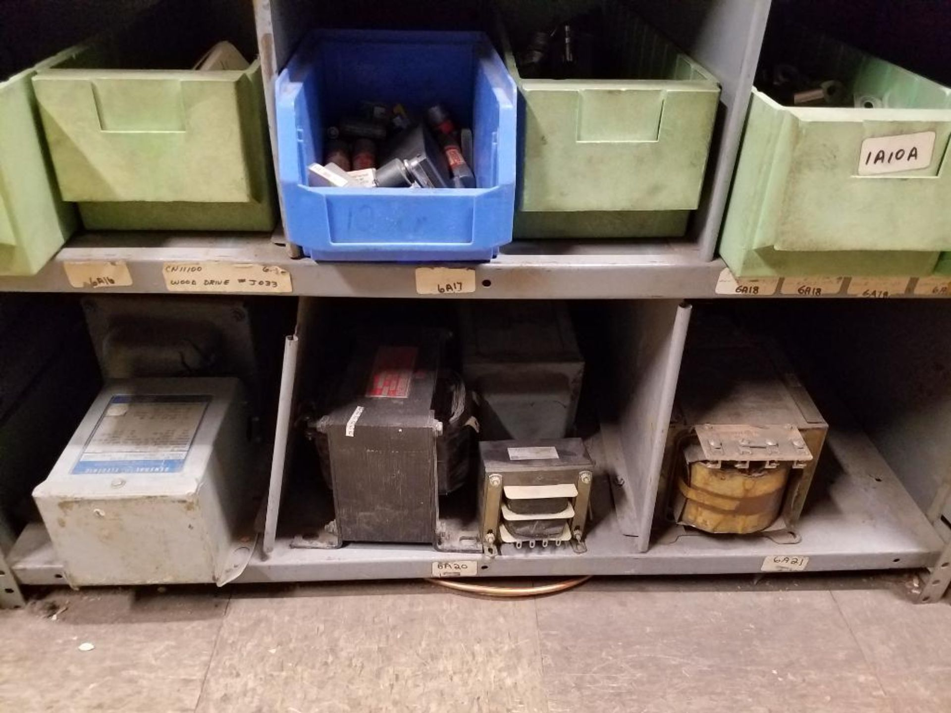 various electrical components, shelving not included - Image 5 of 5