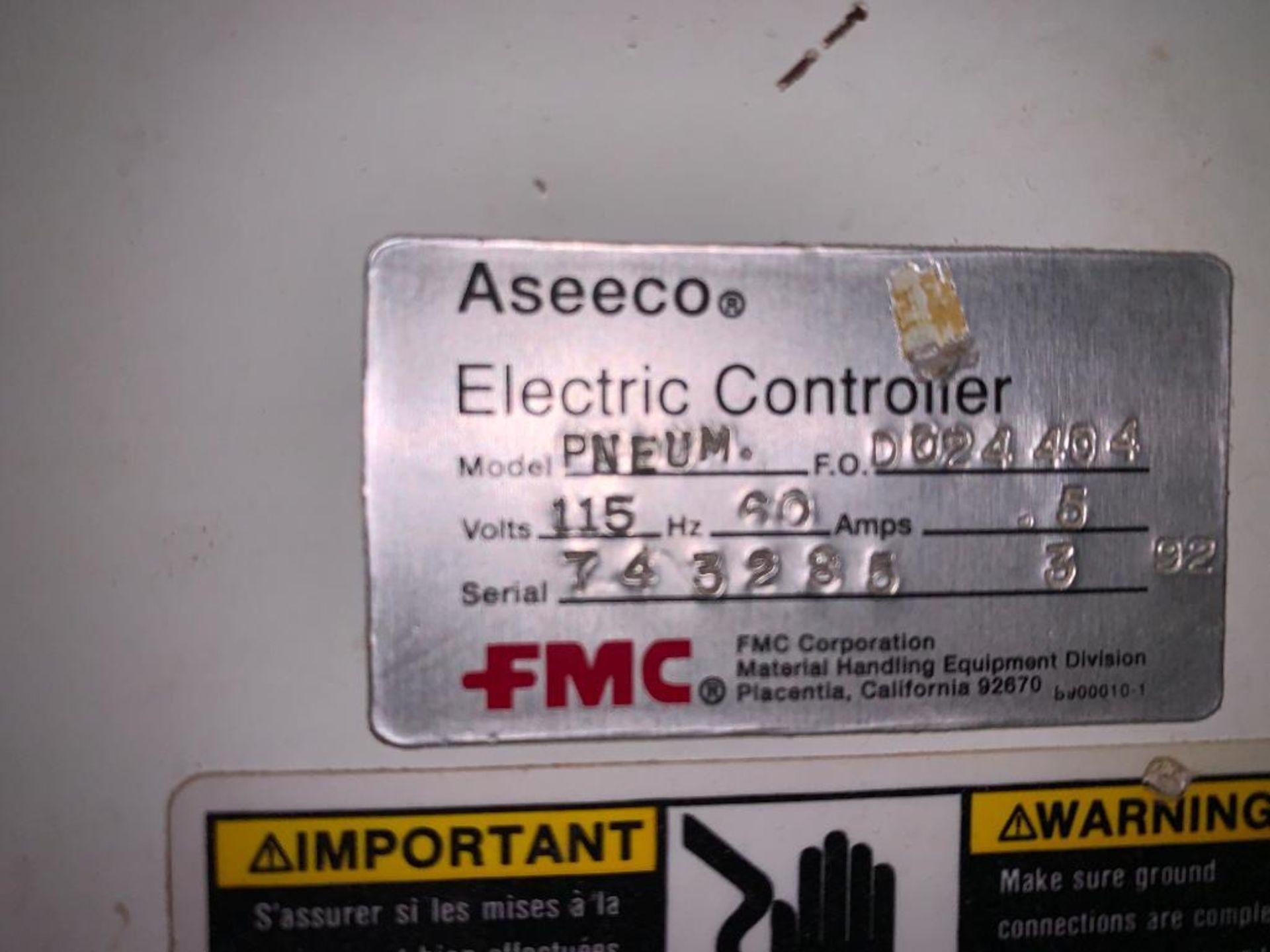 Aseeco mild steel cone bottom bulk storage bin - Image 10 of 23