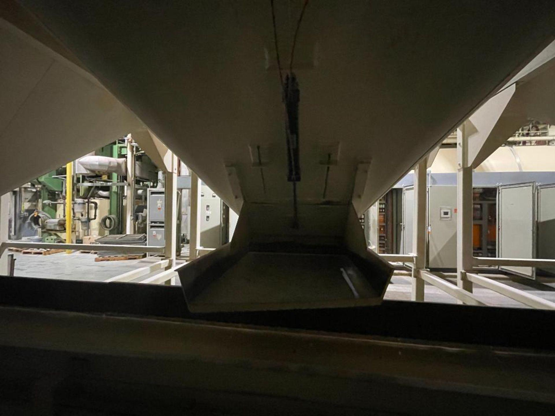 Aseeco mild steel cone bottom bulk storage bin - Image 15 of 28