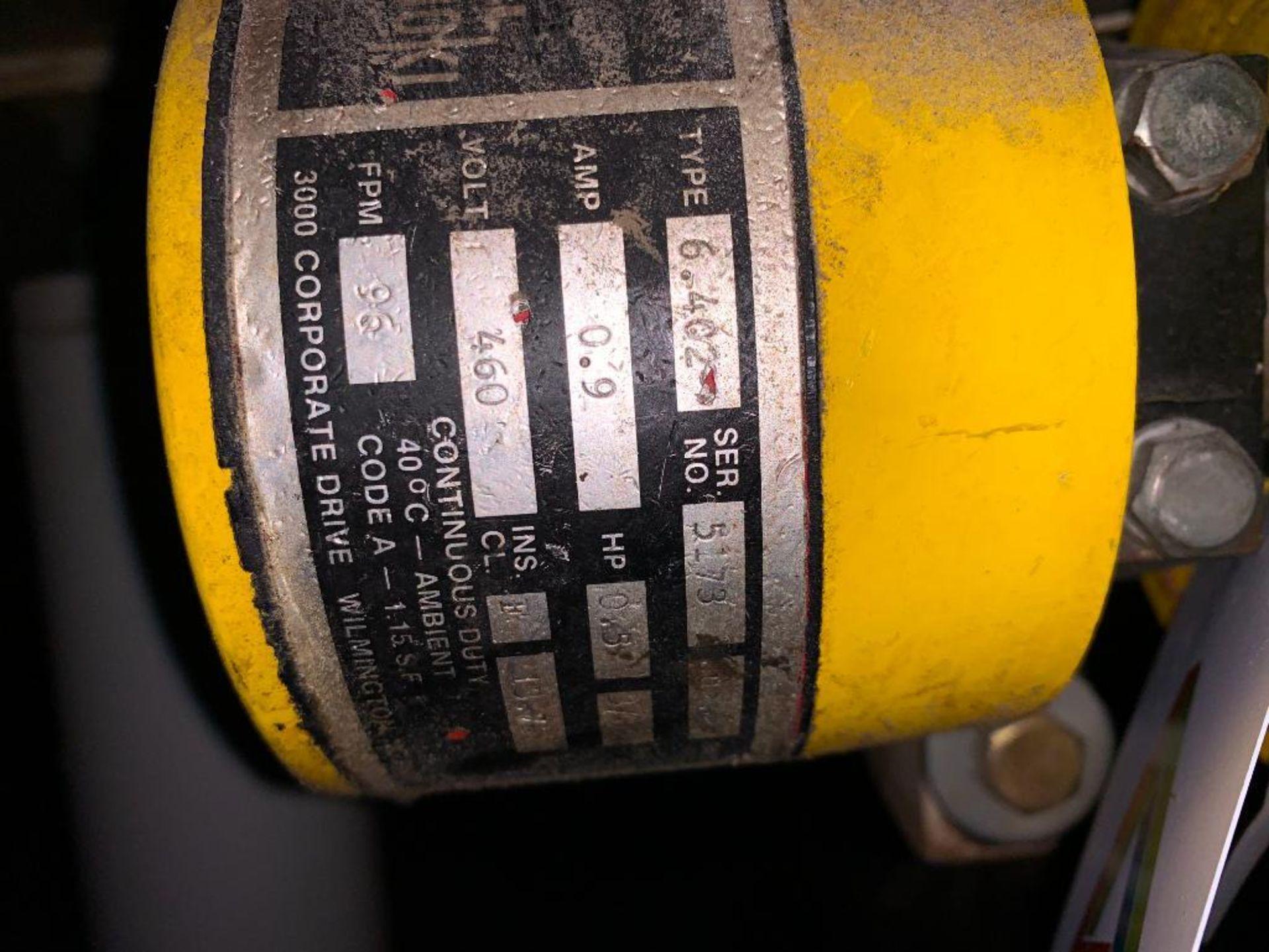 mild steel belt conveyor - Image 2 of 9