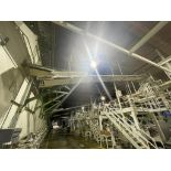 mild steel overhead belt conveyor