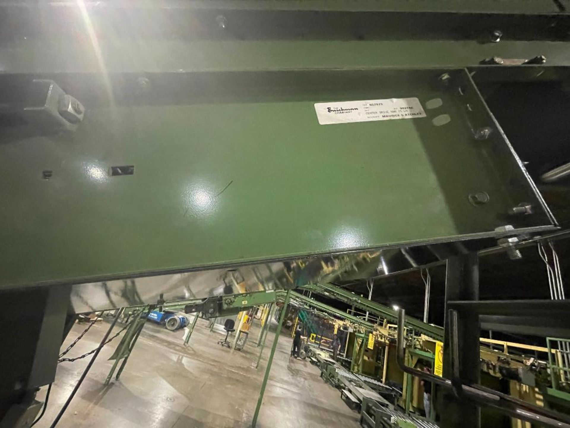 Buschman mild steel incline conveyor - Image 8 of 15