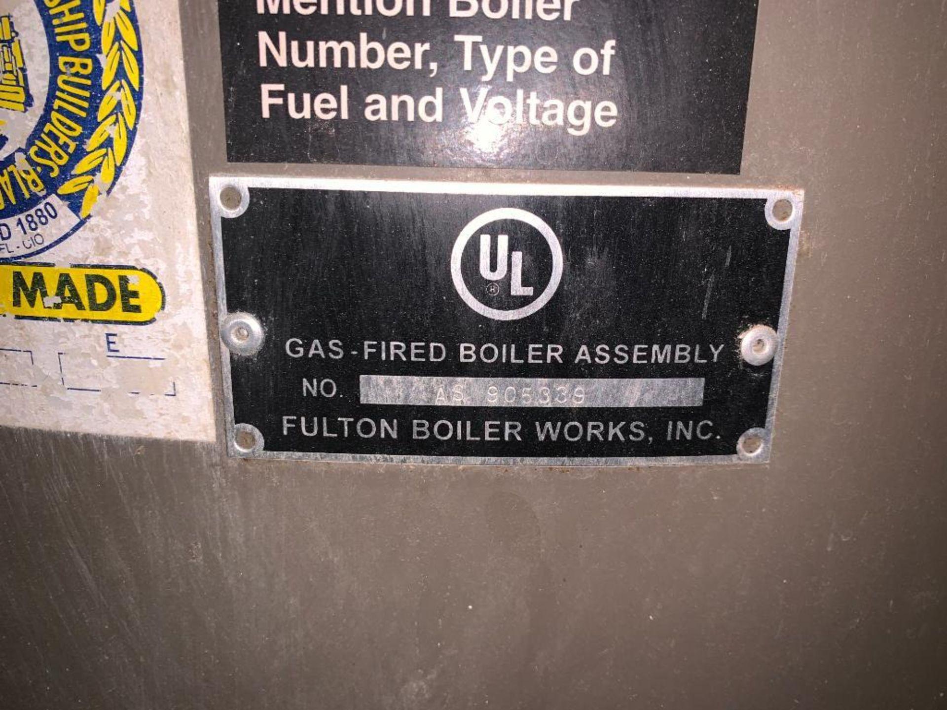 2014 Fulton steam boiler - Image 5 of 23