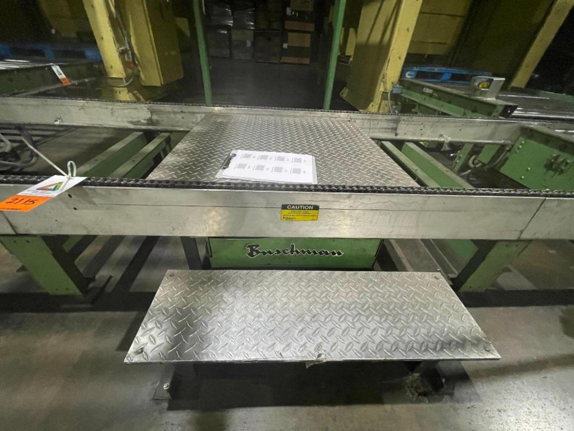 Buschman full pallet conveyor - Image 10 of 10