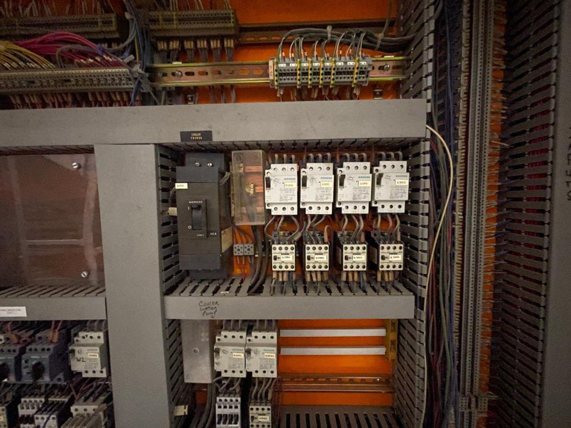 7-door mild steel air conditioned control cabinet, 5-VFD's - Image 40 of 43