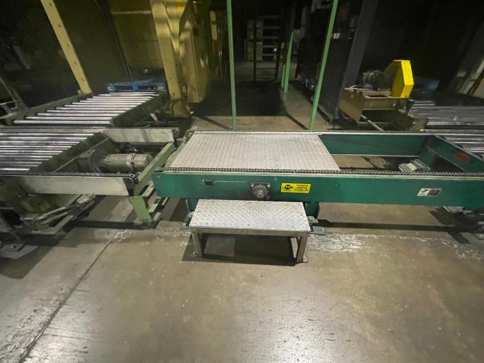 Automated Conveyor Systems full pallet conveyor - Image 3 of 12