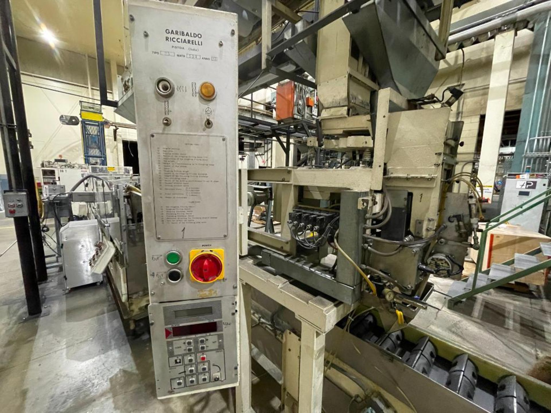 Hayes Machine Co. long goods cartoner, model 51BB - Image 13 of 64