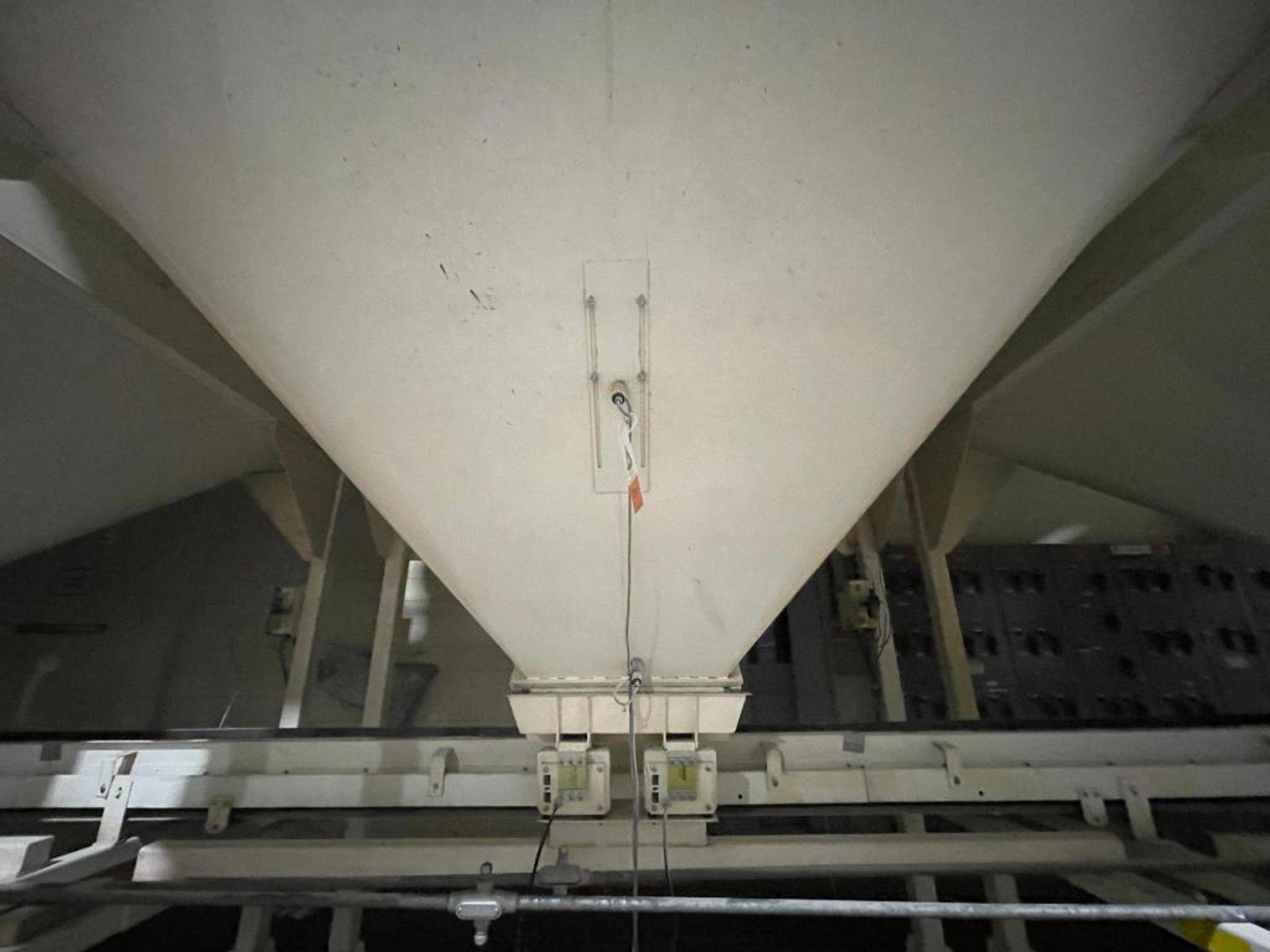 Aseeco mild steel cone bottom bulk storage bin - Image 8 of 28