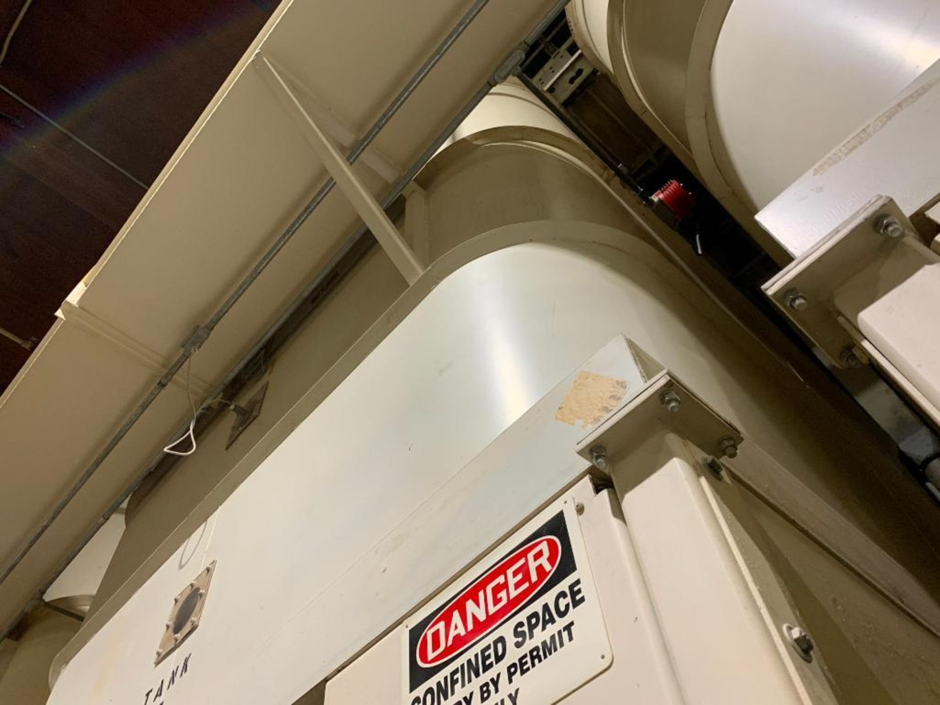 Aseeco mild steel cone bottom bulk storage bin - Image 16 of 19
