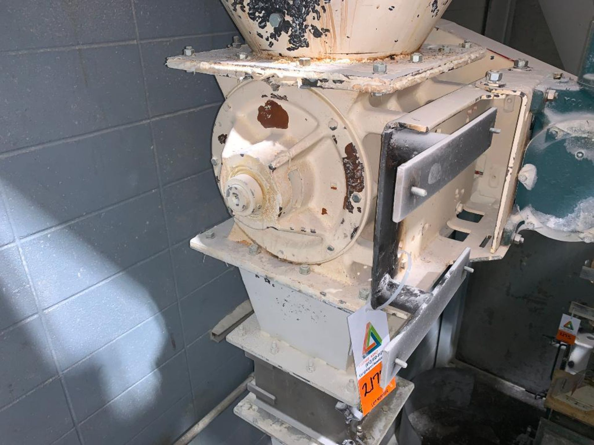 MAC 12 in. mild steel rotary lock