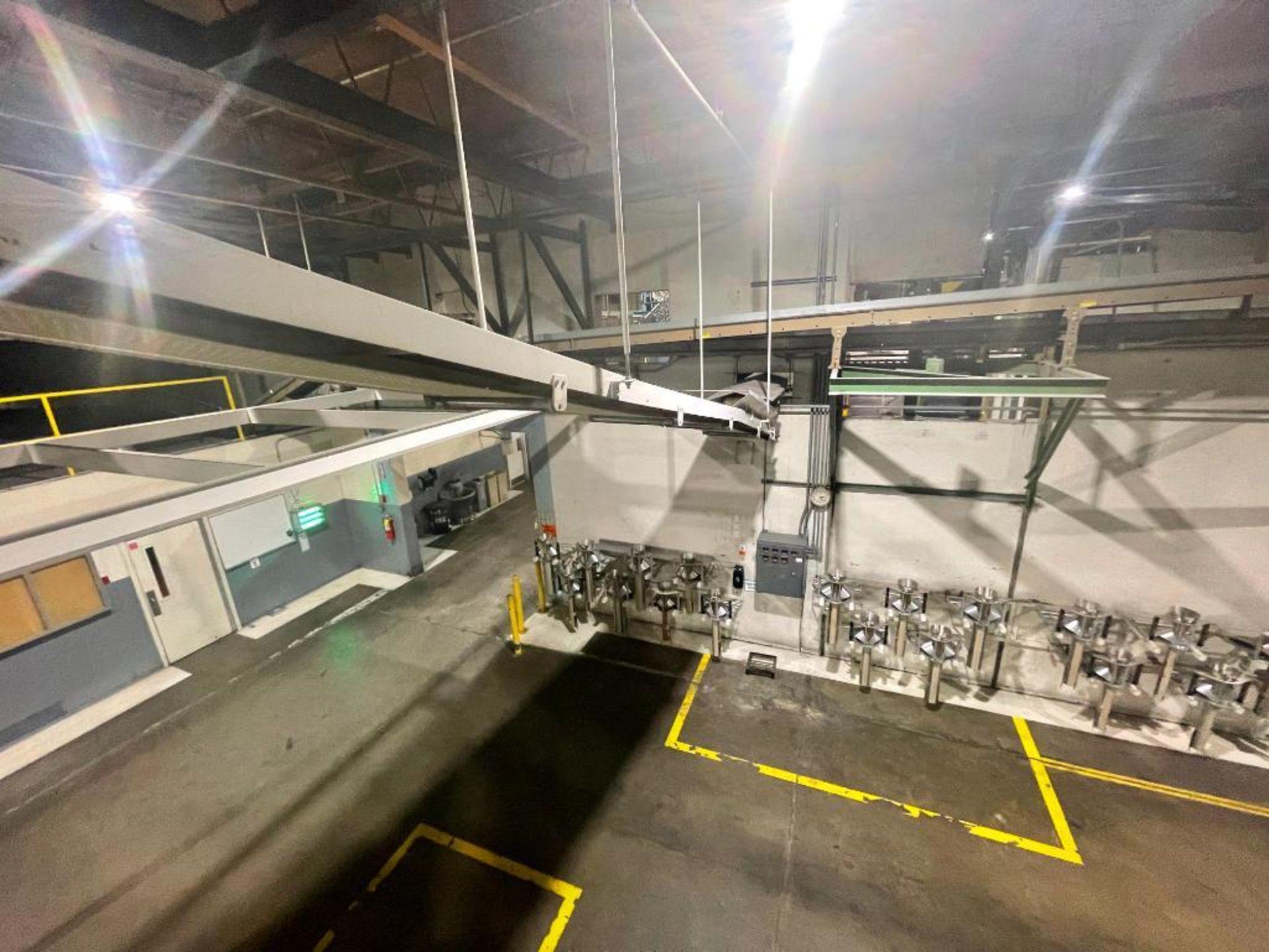 mild steel overhead belt conveyor - Image 8 of 8