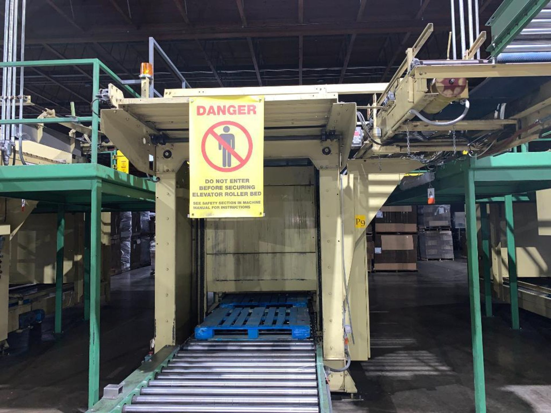 1992 Currie top to bottom palletizer, machine number LSP-5-1175 - Image 3 of 54