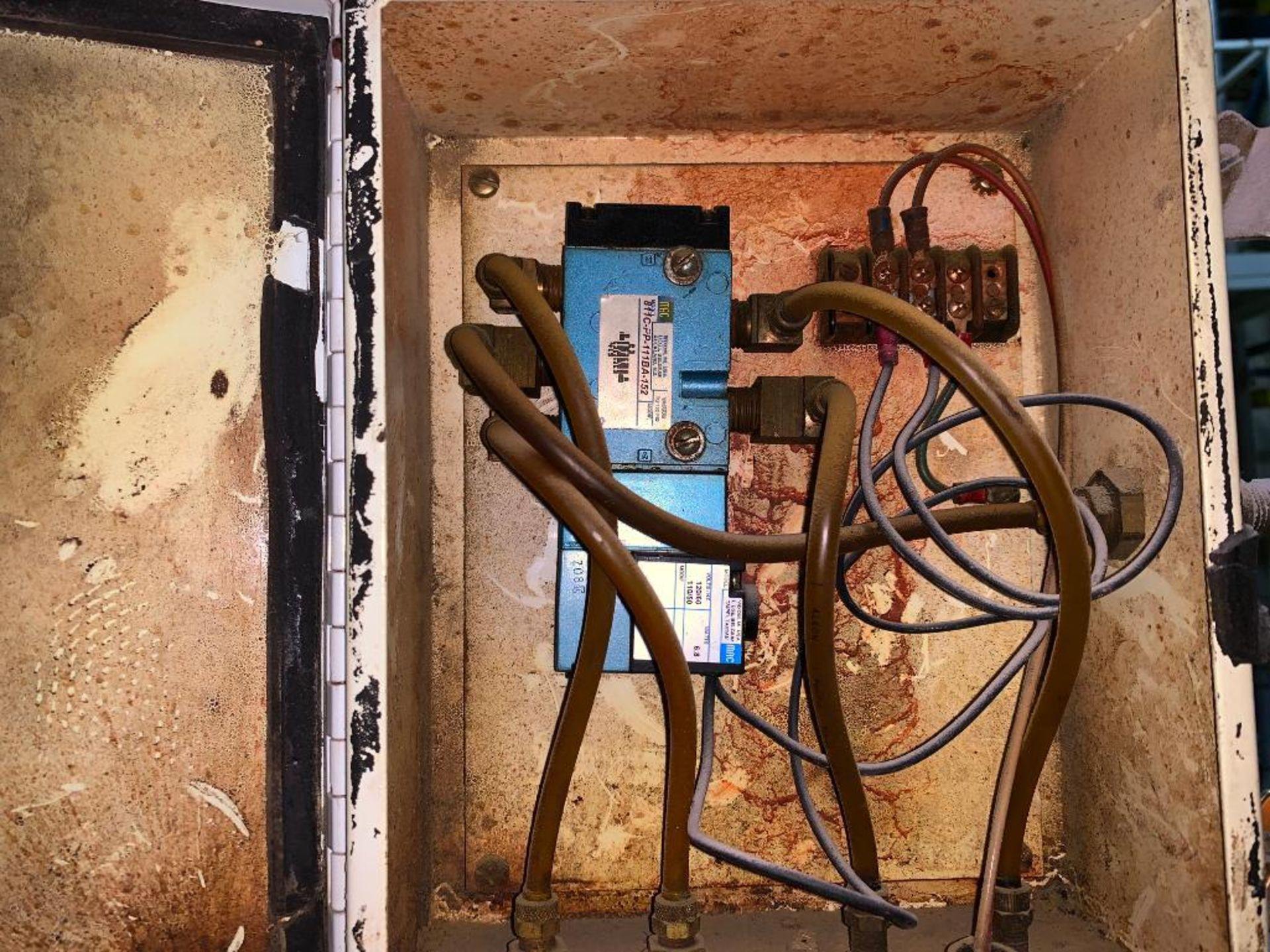 Aseeco mild steel cone bottom bulk storage bin - Image 13 of 16