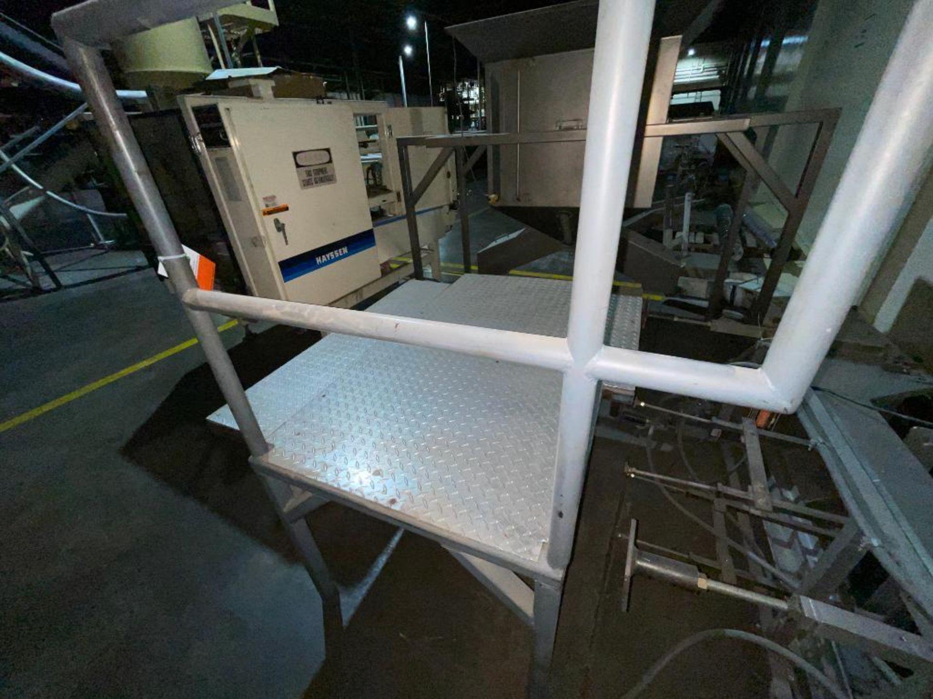 (2) mild steel platforms - Image 2 of 6