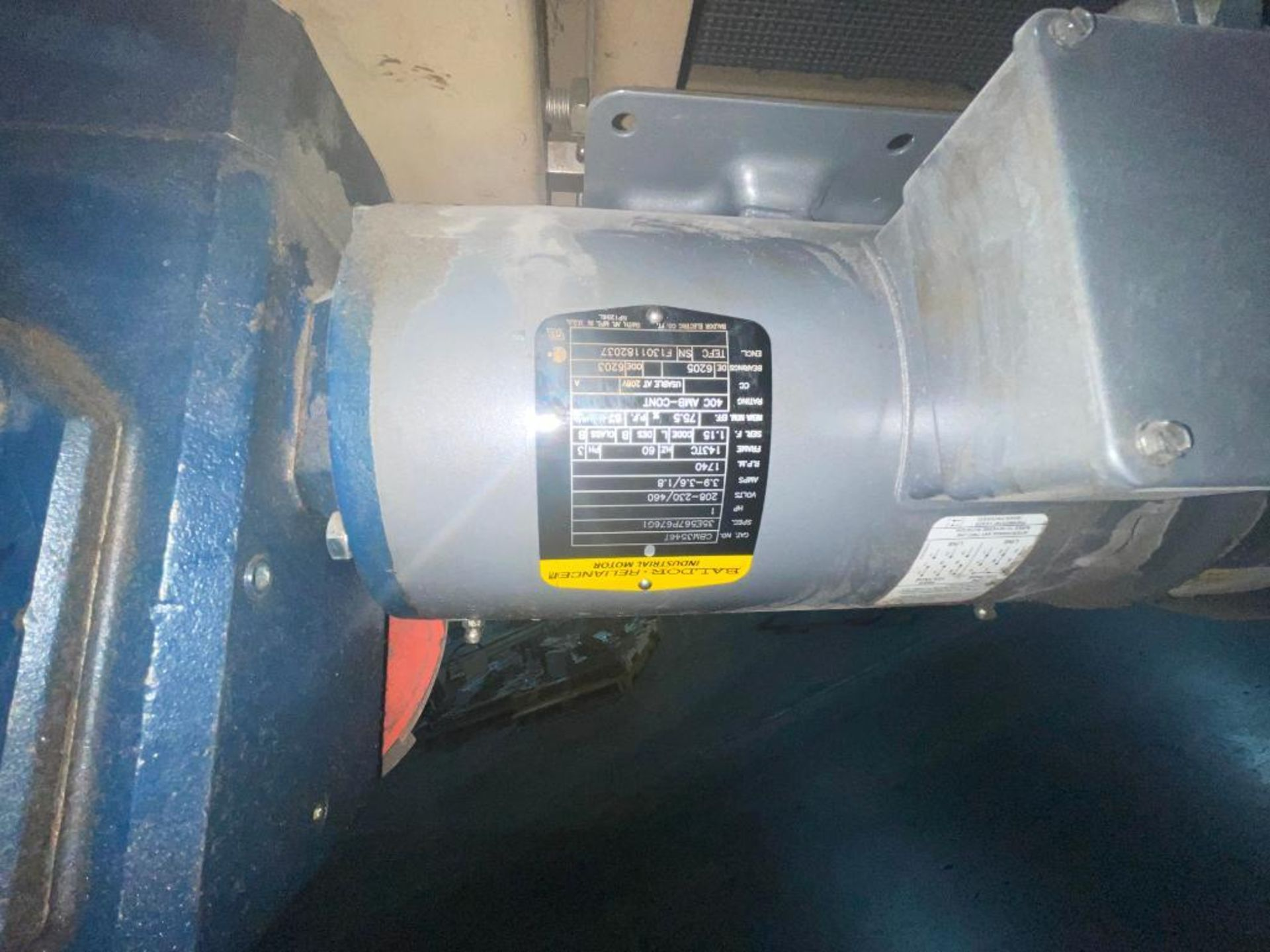 Mathews mild steel incline conveyor - Image 5 of 10