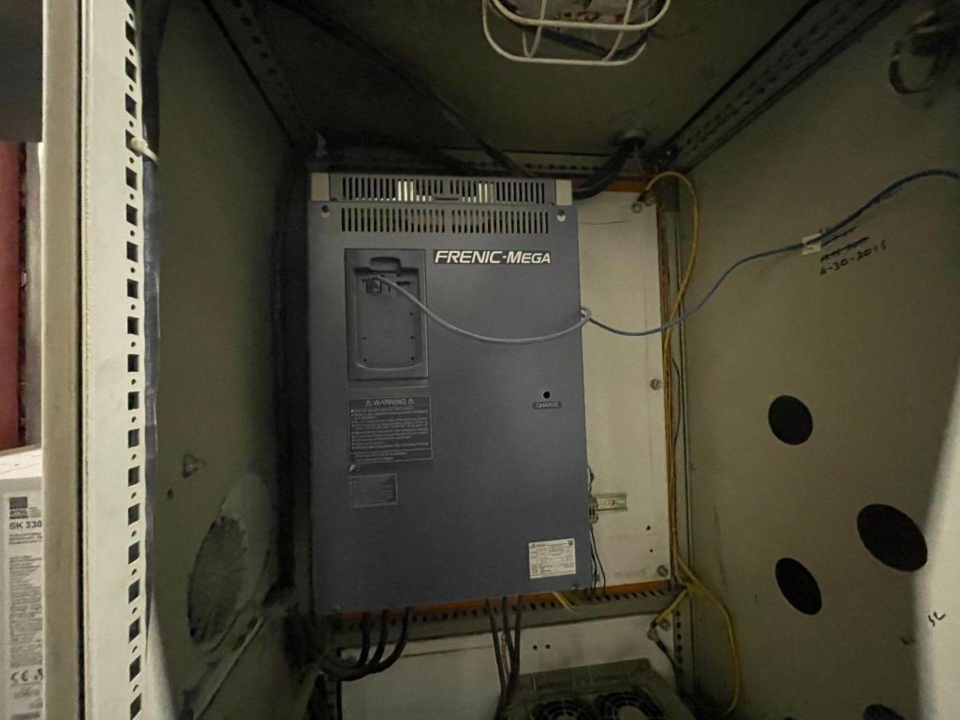 7-door mild steel air conditioned control cabinet, 5-VFD's - Image 7 of 43
