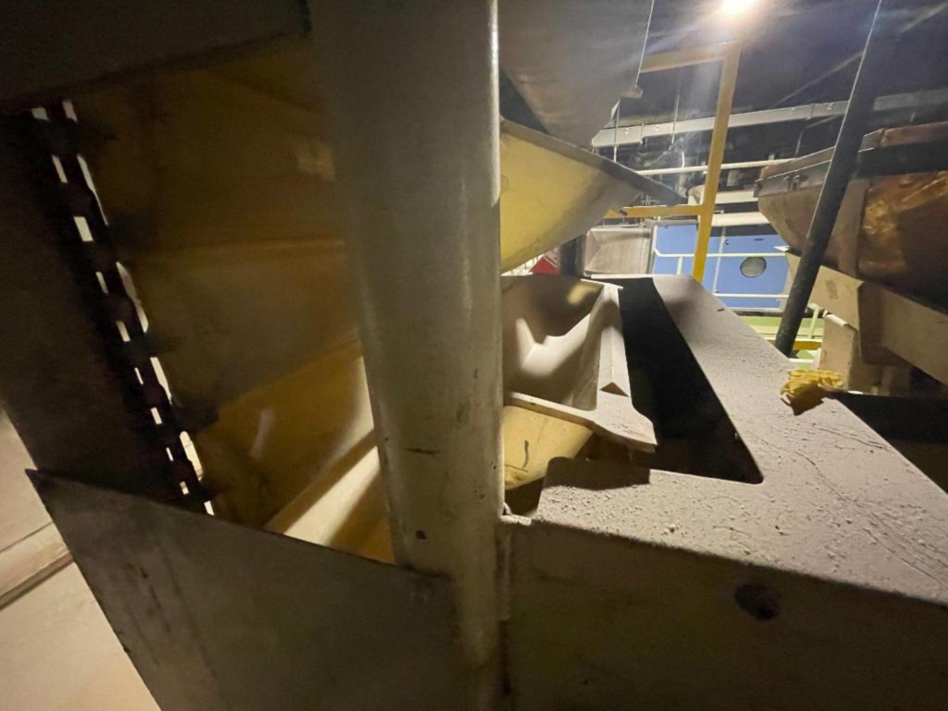 Aseeco horizontal overlapping bucket elevator - Image 7 of 13