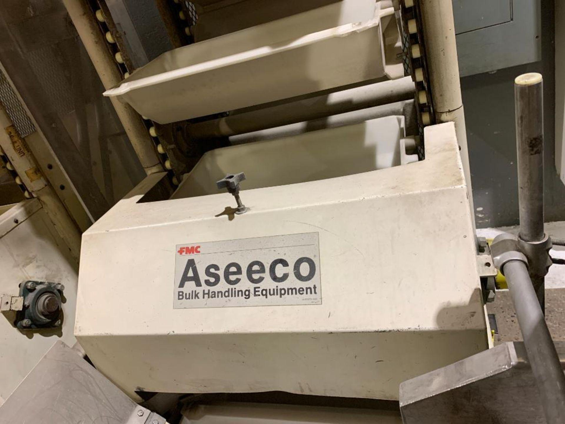 1992 Aseeco horizontal bucket elevator, model ALH-0-24-CP - Image 8 of 18