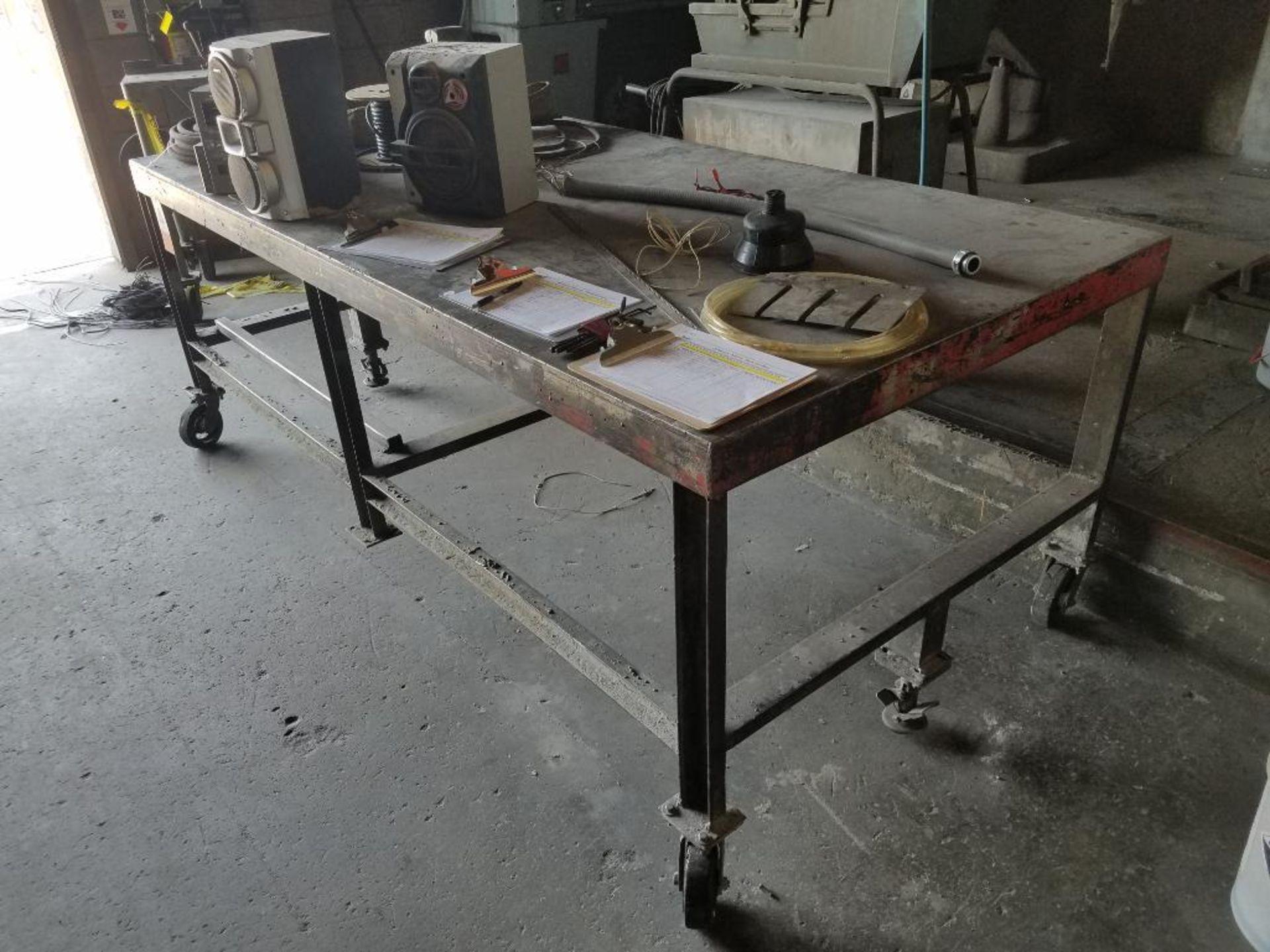 steel welding table - Image 2 of 3
