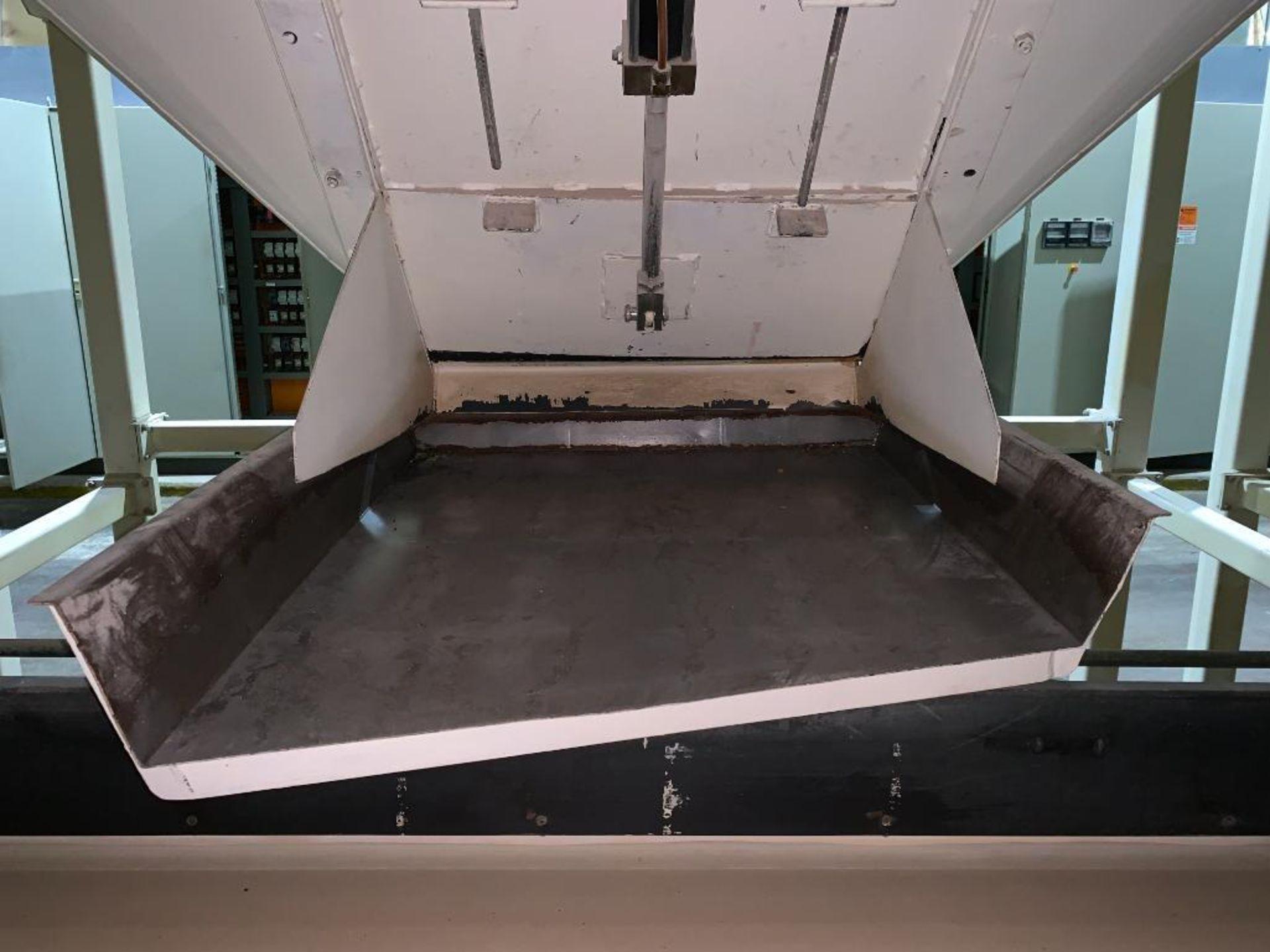Aseeco mild steel cone bottom bulk storage bin - Image 15 of 23