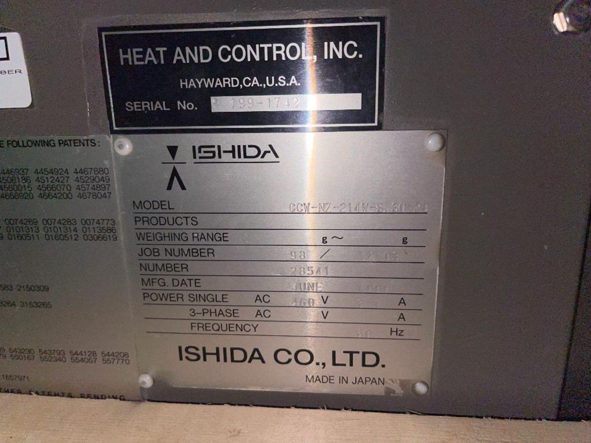 1999 Ishida scale, 14-head - Image 10 of 13