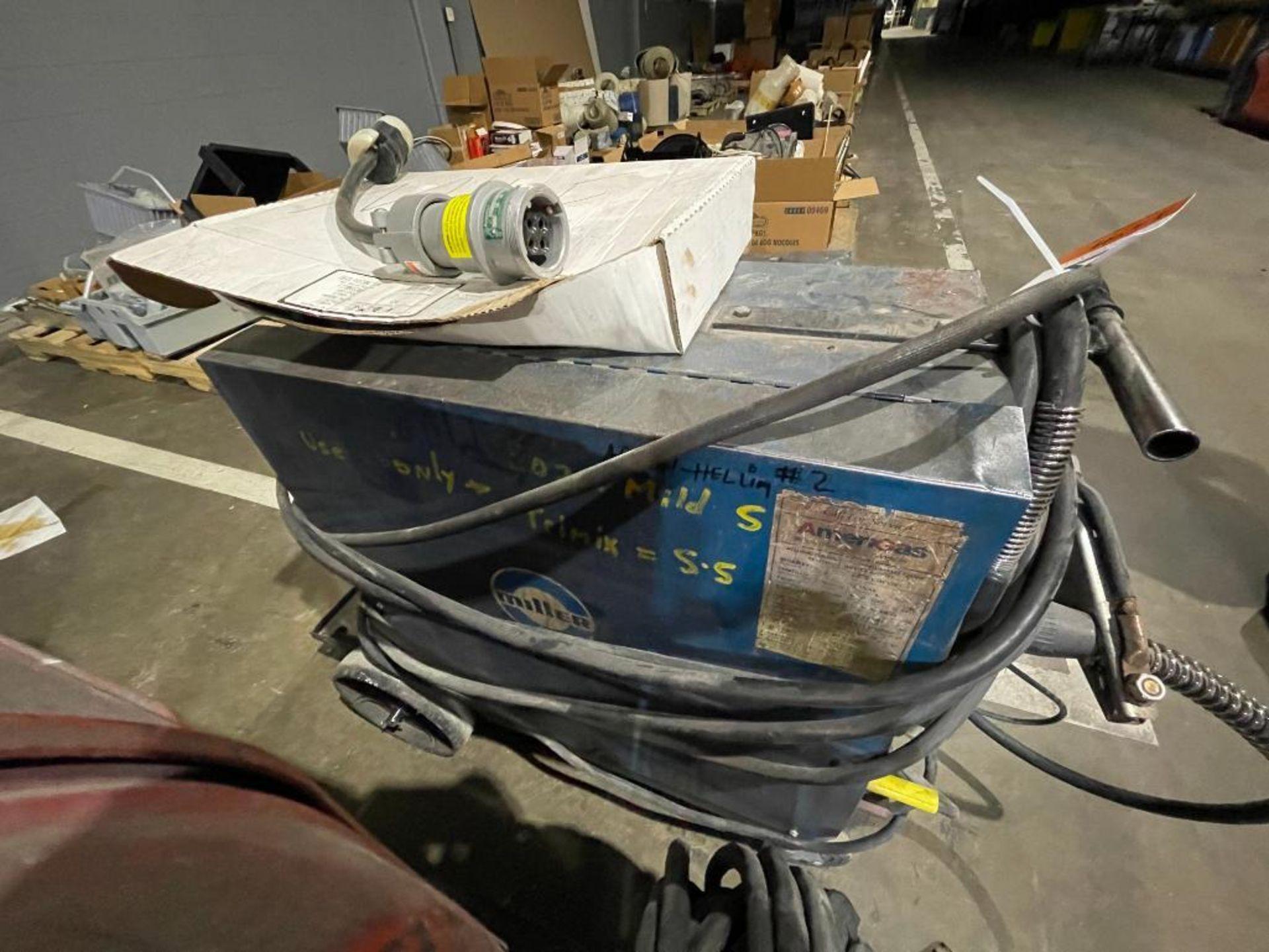 Millermatic 200 wire feed welder - Image 5 of 6