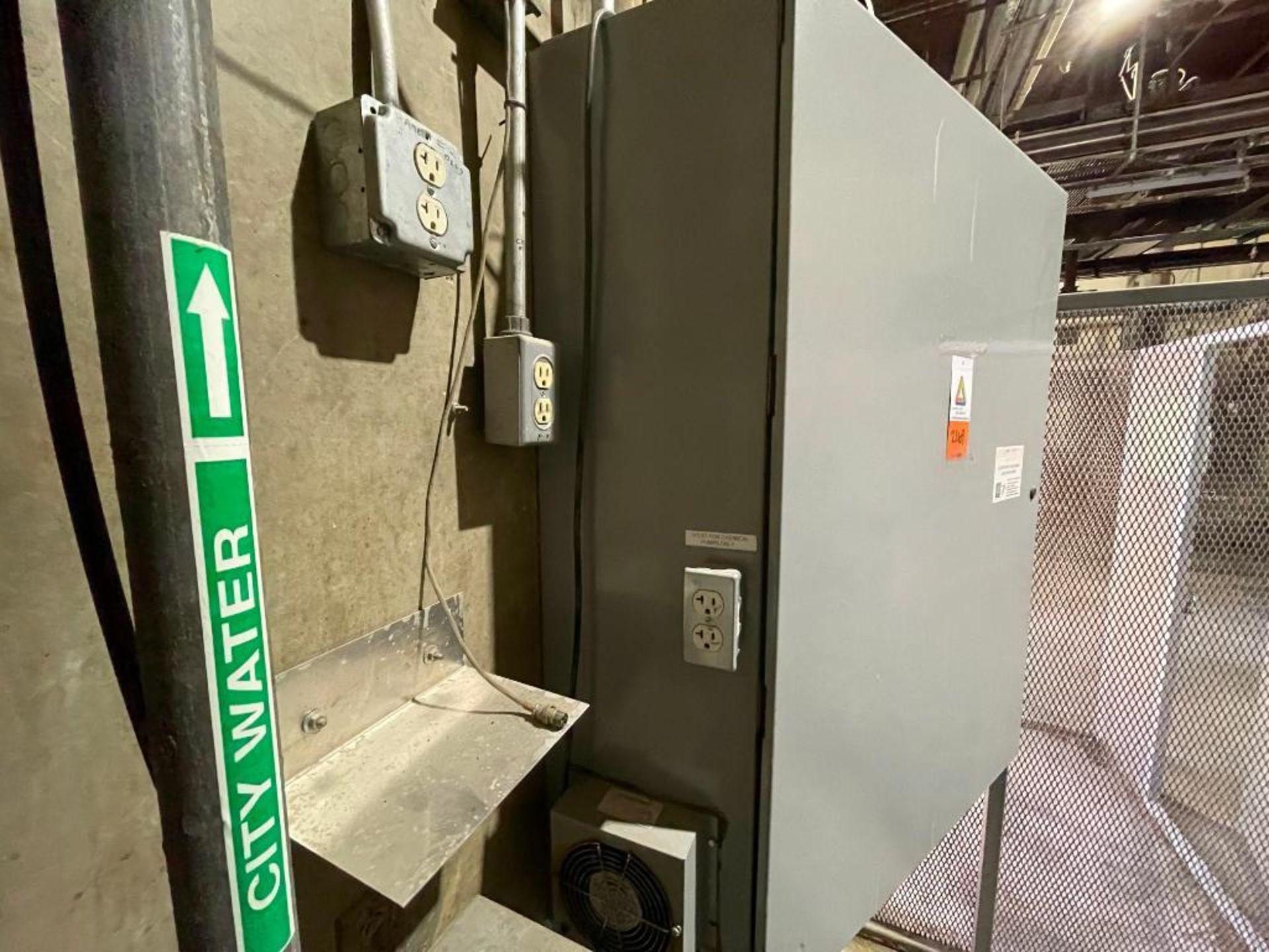 single door mild steel cabinet - Image 8 of 12
