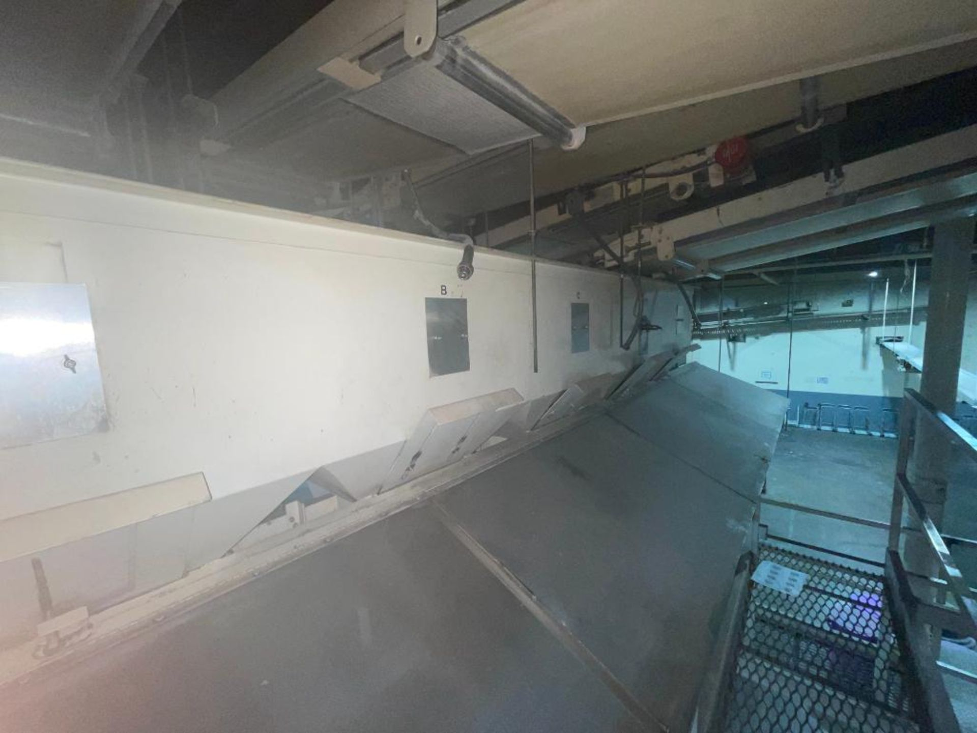 Aseeco 5-bin blending system with 5 Syntron vibratory feeders on bottom - Image 2 of 18