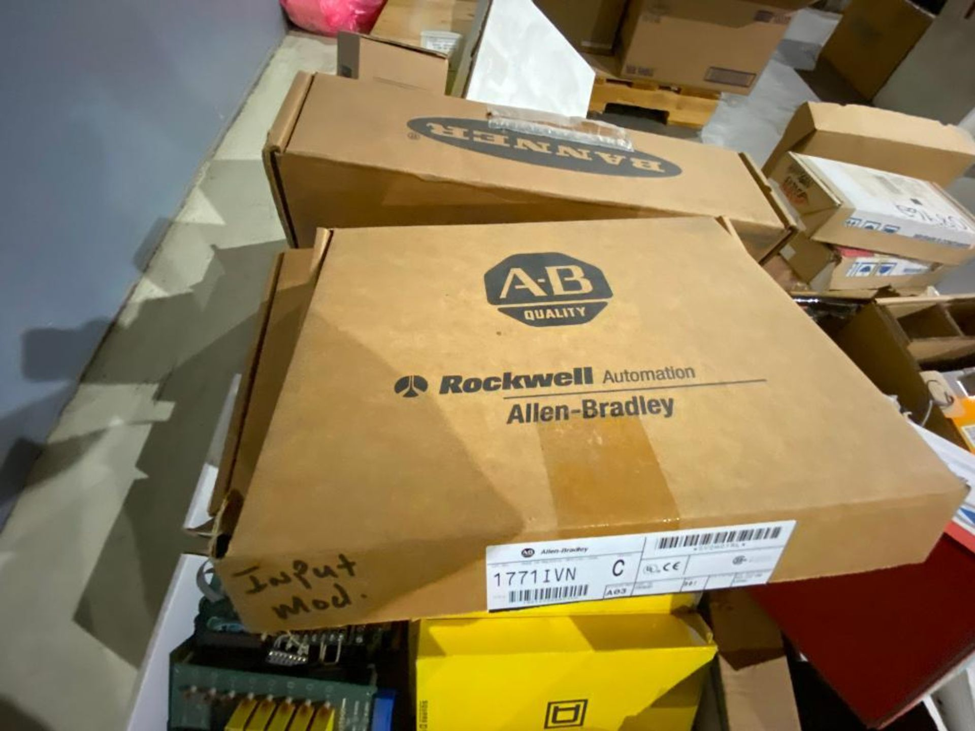 pallet of ABB parts, controllers, cabinets, and control boards - Image 5 of 8