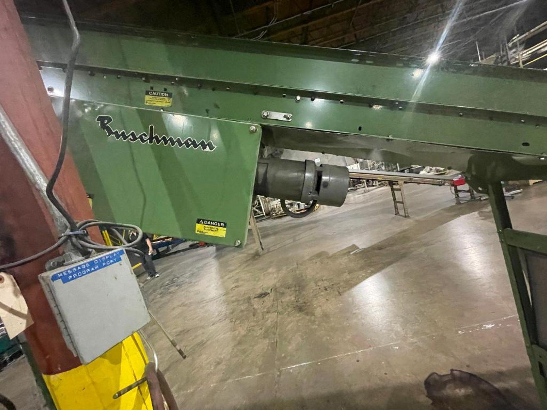 Buschman mild steel incline conveyor - Image 4 of 15