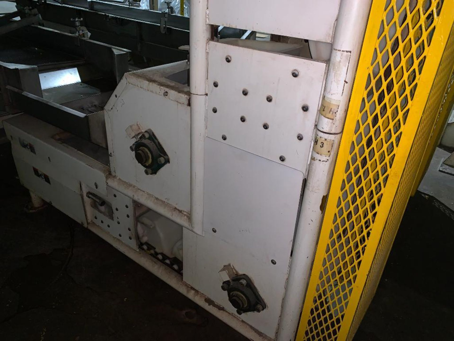 1992 Aseeco overlapping bucket incline conveyor, model ALH-0-12, Z-shape - Image 12 of 14