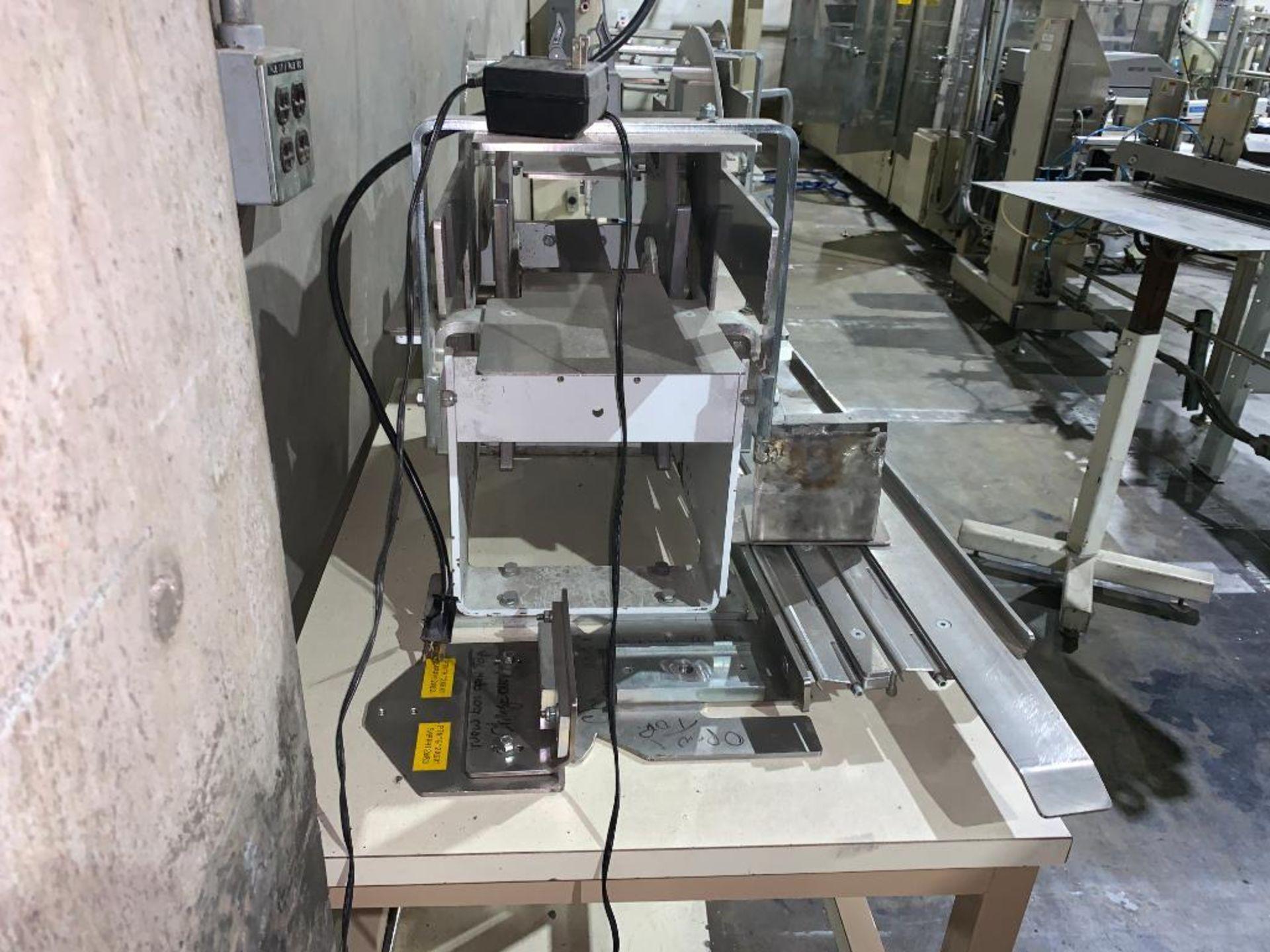 mild steel belt conveyor, 68 in. x 10 in., with box conditioner - Image 12 of 13
