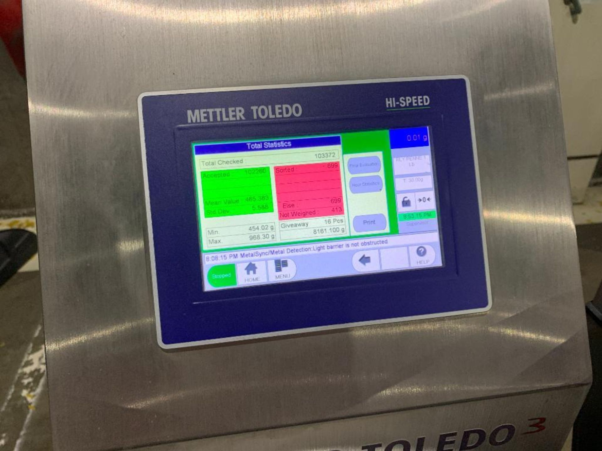 Mettler Toledo high speed check weigher - Image 9 of 10