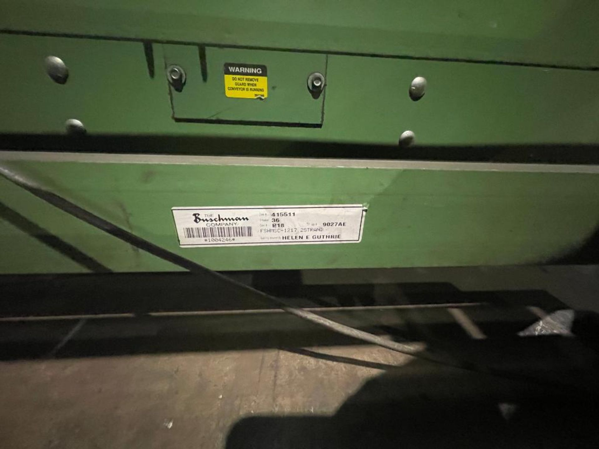 Buschman full pallet conveyor - Image 4 of 12