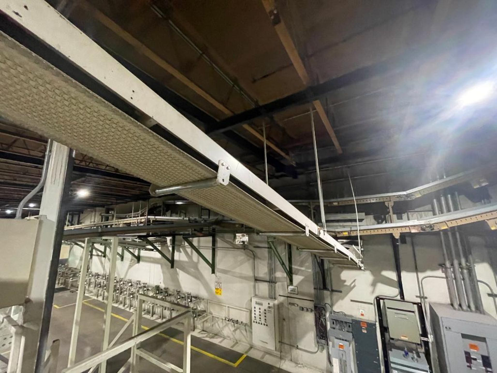 mild steel overhead belt conveyor - Image 10 of 12